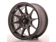 JR-Wheels JR11 Wheels Flat Gun Metal 15 Inch 7J ET30 4x100/108-55812-10