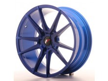 JR-Wheels JR21 Wheels Platinum Blue 19 Inch 8.5J ET20-40 5H Blank-62929