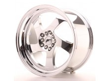 JR-Wheels JR15 Wheels Vacuum Chrome 18 Inch 9.5J ET35 5x100/120-56155-5