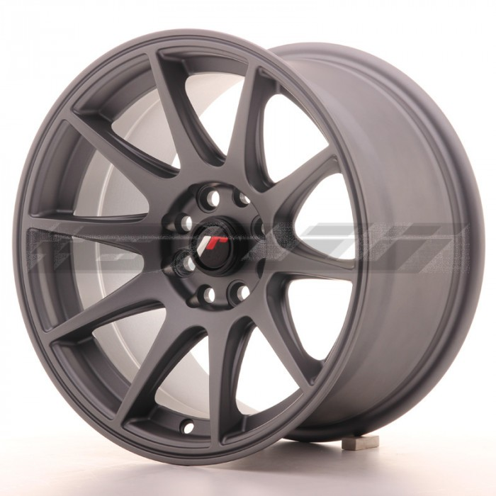 JR-Wheels JR11 Wheels Gun Metal 15 Inch 8J ET25 4x100/108-58230