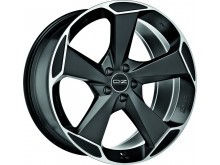 OZ-Racing Aspen HLT Wheels Flat Black Machined 21 Inch 9J ET38 5x108-72662