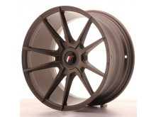 JR-Wheels JR21 Wheels Flat Bronze 18 Inch 9.5J ET20-40 Blank-58577