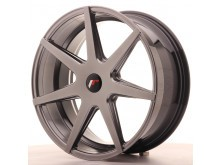 JR-Wheels JR20 Wheels Hyper Black 20 Inch 8.5J ET20-40 5H Blank-58012