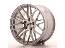 JR-Wheels JR28 Wheels Silver Machined 18 Inch 9.5J ET35 5x120-62954