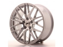 JR-Wheels JR28 Wheels Silver Machined 18 Inch 8.5J ET40 5H Blank-64321