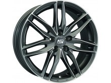 MSW MSW 24 Wheels Gun Metal Machined 17 Inch 8J ET45 5x114,3-71541