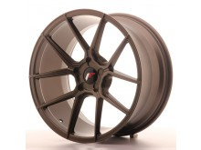 JR-Wheels JR30 Wheels Flat Bronze  19 Inch 9.5J ET35-40 5H Blank-63282
