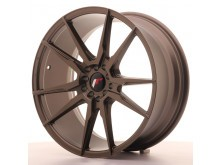 JR-Wheels JR21 Wheels Flat Bronze 19 Inch 8.5J ET35 5x100/120-58075
