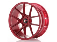 JR-Wheels JR30 Wheels Platinum Red 20 Inch 8.5J ET20-40 5H Blank-64345