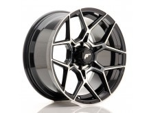JR-Wheels JRX9 18x9 ET18 6x114.3 Gloss Black Machined Face-76485