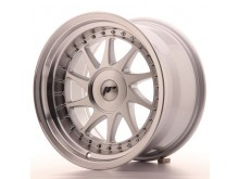 JR-Wheels JR26 Wheels Silver Machined 16 Inch 9J ET0-25 Blank-61301