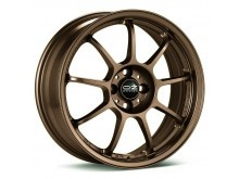 OZ-Racing Alleggerita HLT Wheels Flat Bronze 18 Inch 12J ET45 5x130-73000