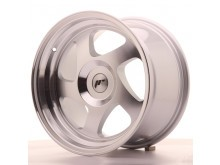 JR-Wheels JR15 Wheels Silver Machined 16 Inch 9J ET20 Blank-57895
