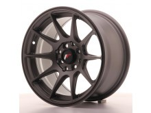 JR-Wheels JR11 Wheels Flat Gun Metal 15 Inch 8J ET25 4x100/108-55812-12